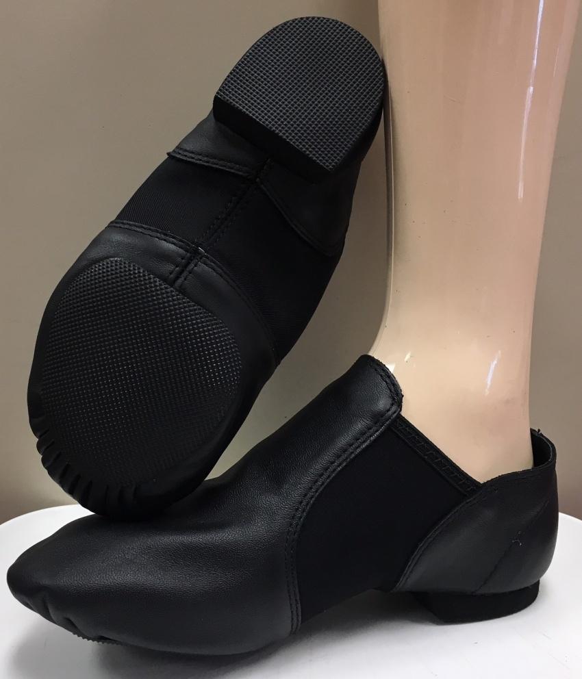 Womens Capezio E-Series Jazz Slip On Shoe Style EJ2 Black