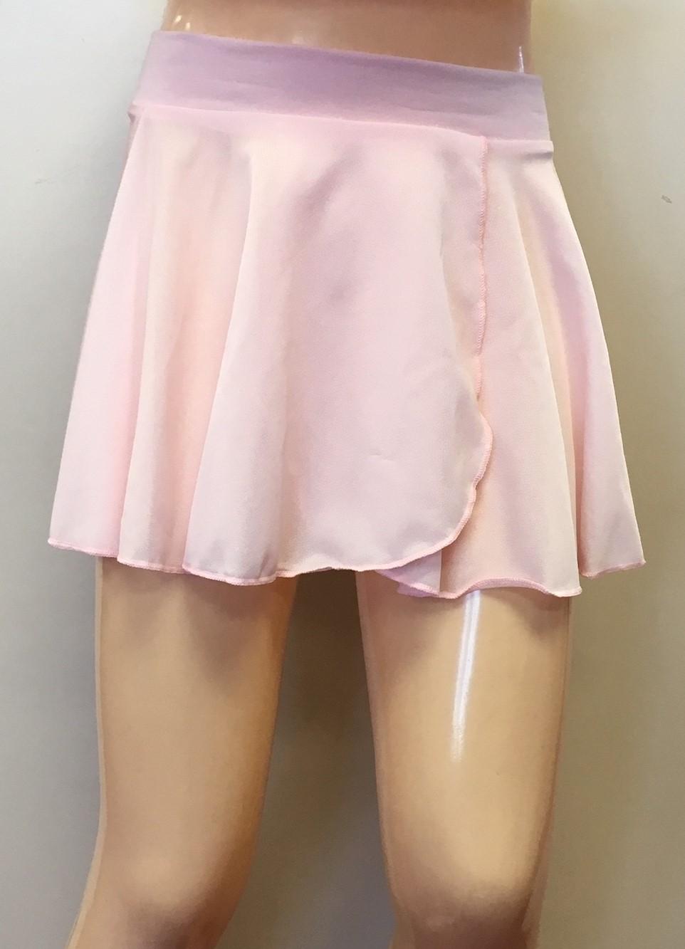 "Motionwear Cotton Waist Band 11"" Crepe Circular Skirt"