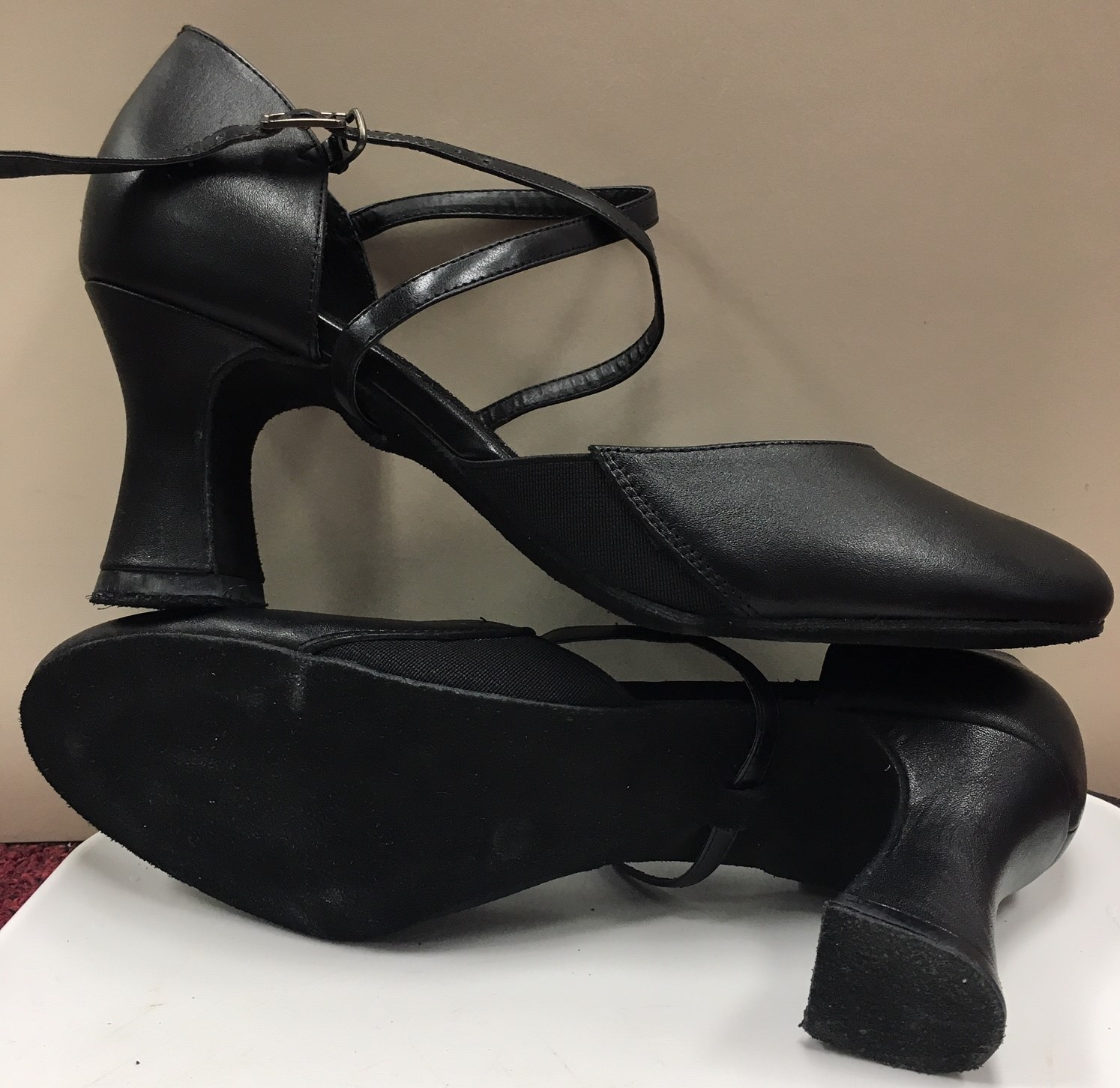 Angelo Luzio Rita Two Inch Caberet Shoes