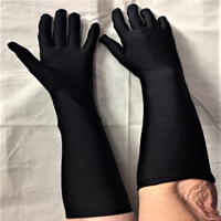 Barry's Matte Elbow Length Gloves
