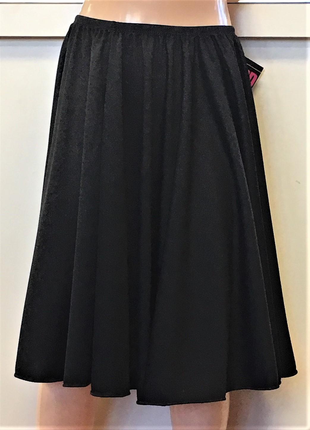 Eurotard Women's Circular Waist Skirt with Elastic Waistband