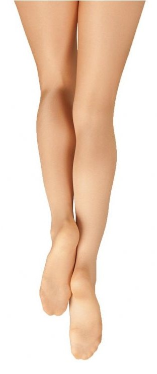 Capezio Women's Ultra Shimmery Footed Tights