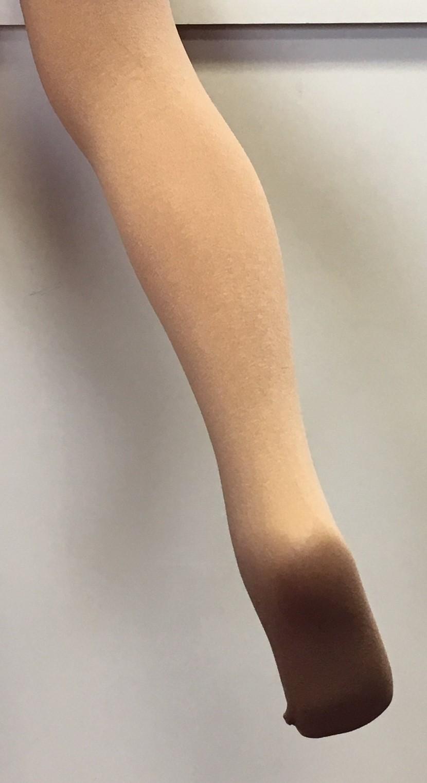 Capezio Microfibre Nylon/Lycra Footed Skate Tight