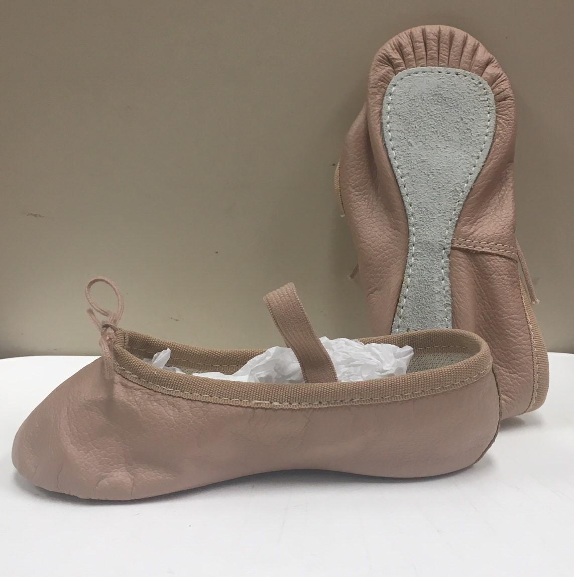 Capezio Toddler's Teknik II Full Sole Leather Ballet Shoes