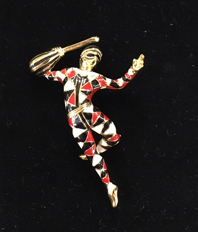 Barry's Harlequin Pin