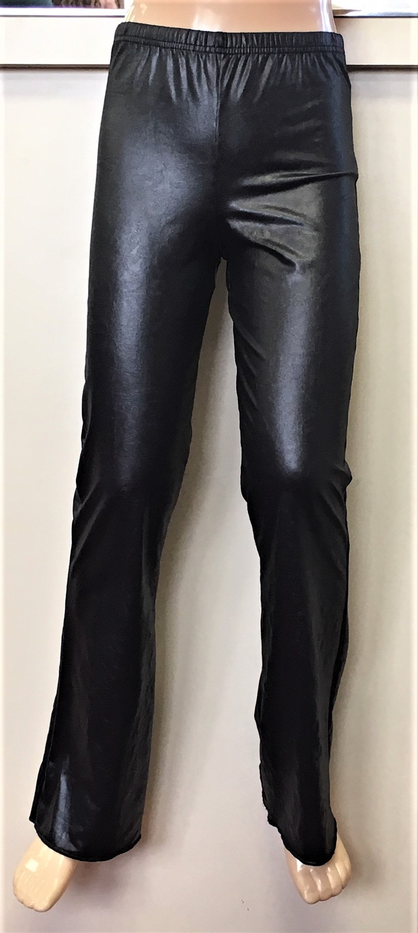 Bodywrappers Children's Faux Leather Jazz Pants