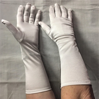 Barry's Adult Satin Elbow Gloves