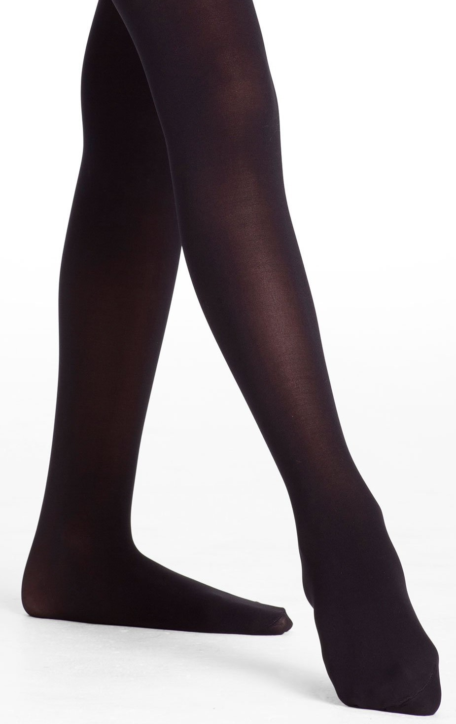 Danskin Child Microfiber Footed Tights