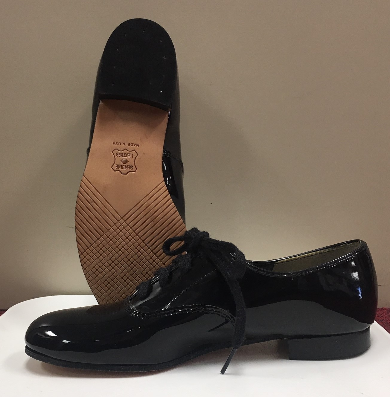 Capezio Boy's Patent Shoes - without taps Additional Sizes