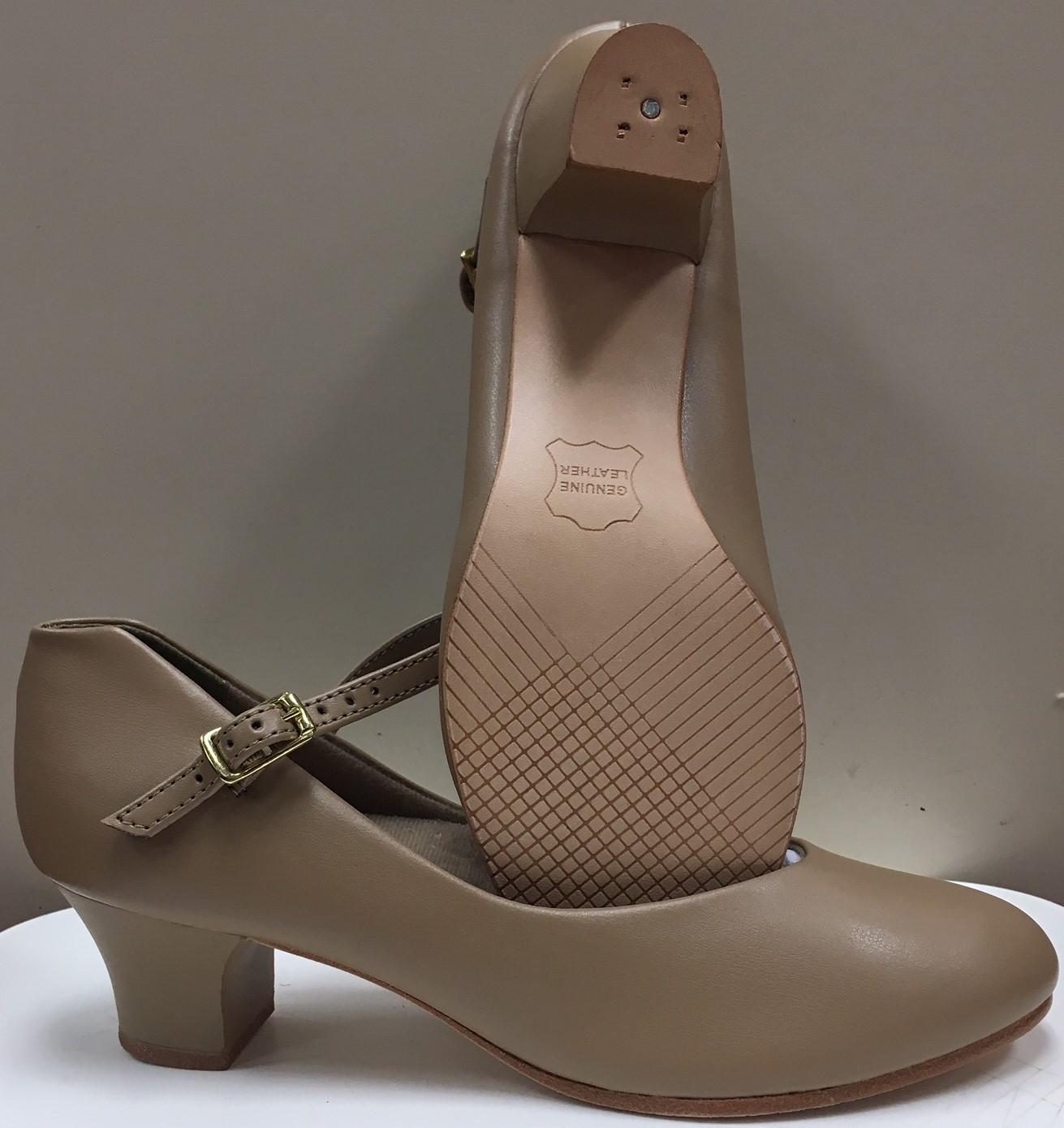 """Capezio Jr. Footlight 1 1/2"""" Character Shoe"""