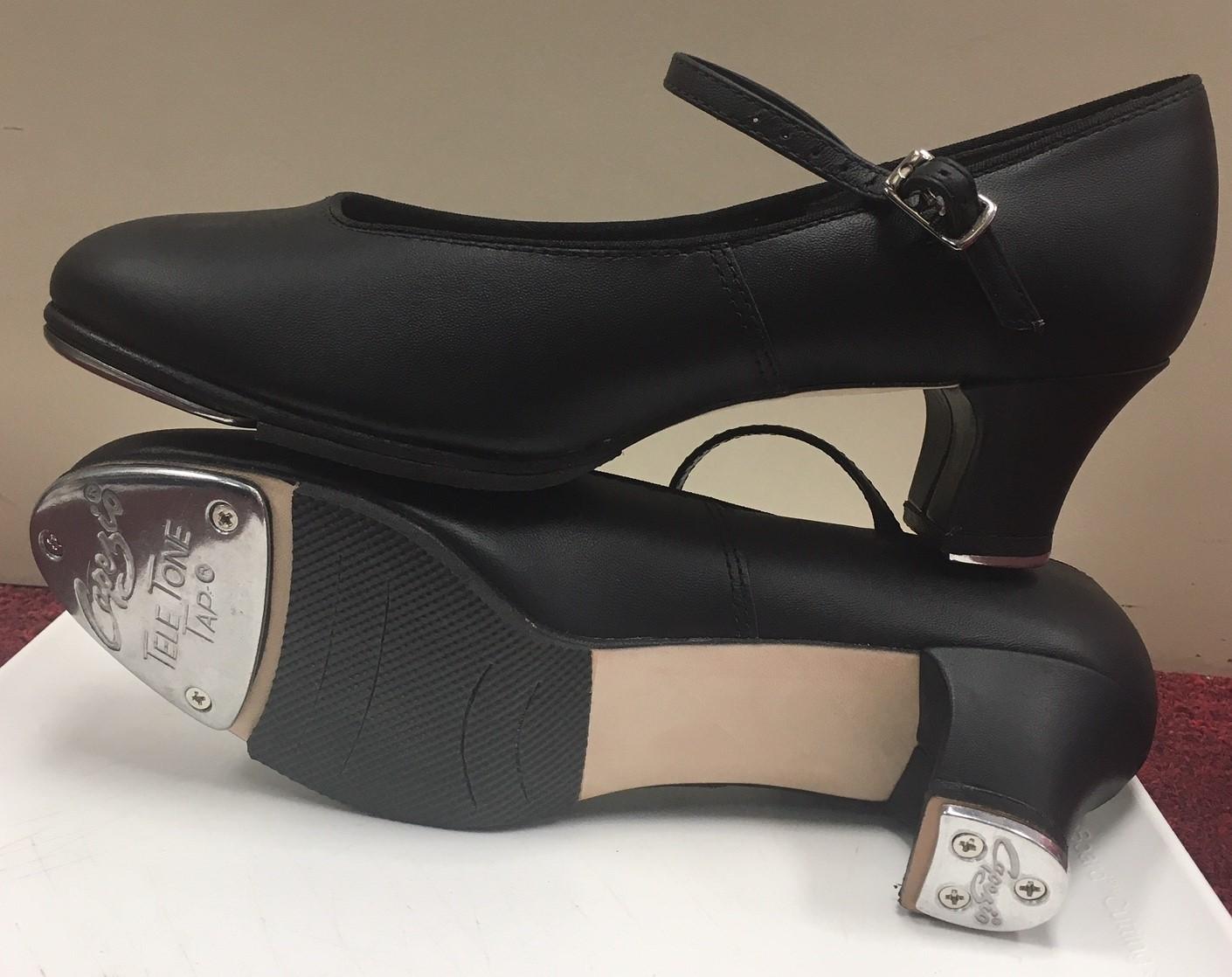 Capezio Women's 1 1/2 inch Jr. Footlight Tap Shoes