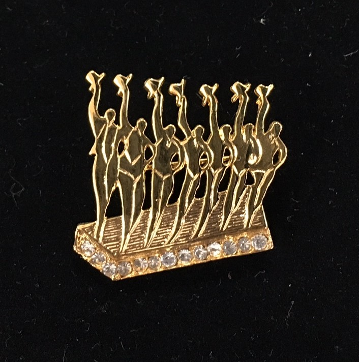 Barry's Chorus Line Pin