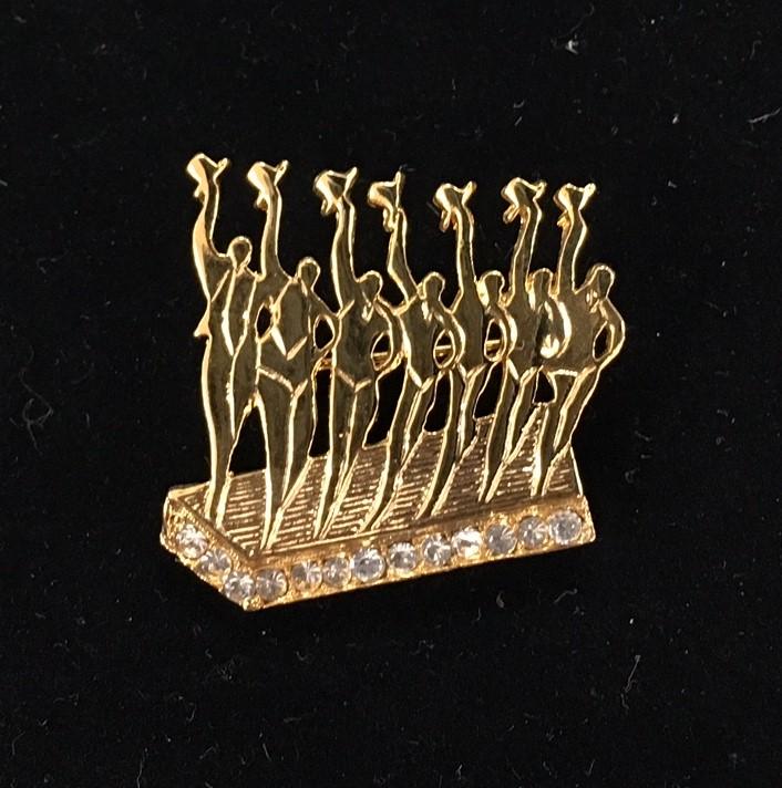 Barry's Chorus Line Pin