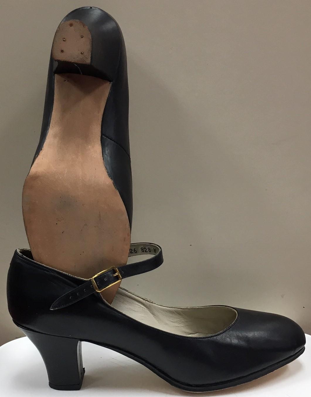 Capezio Women's 2 Inch Heel Leather Pro Footlight Character Shoes