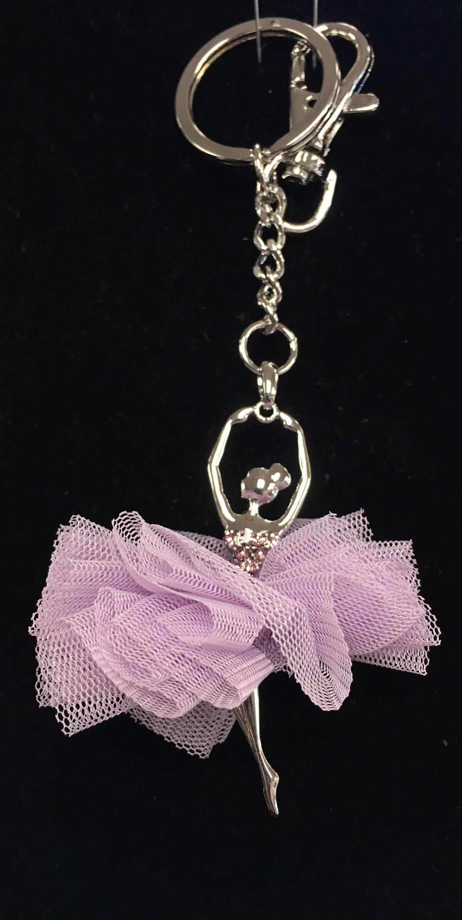 Tutu Ballerina Key Chain