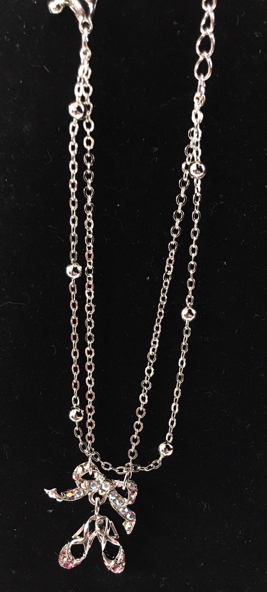 Double Layer Pointe Shoe Bracelet