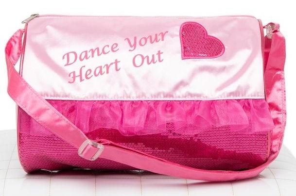 Capezio Heart Barrel Bag