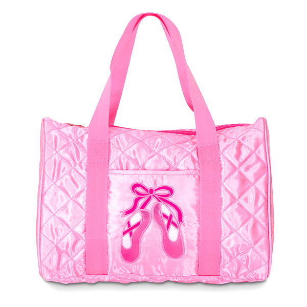 Danshuz Quilted On Pointe Pink Bag