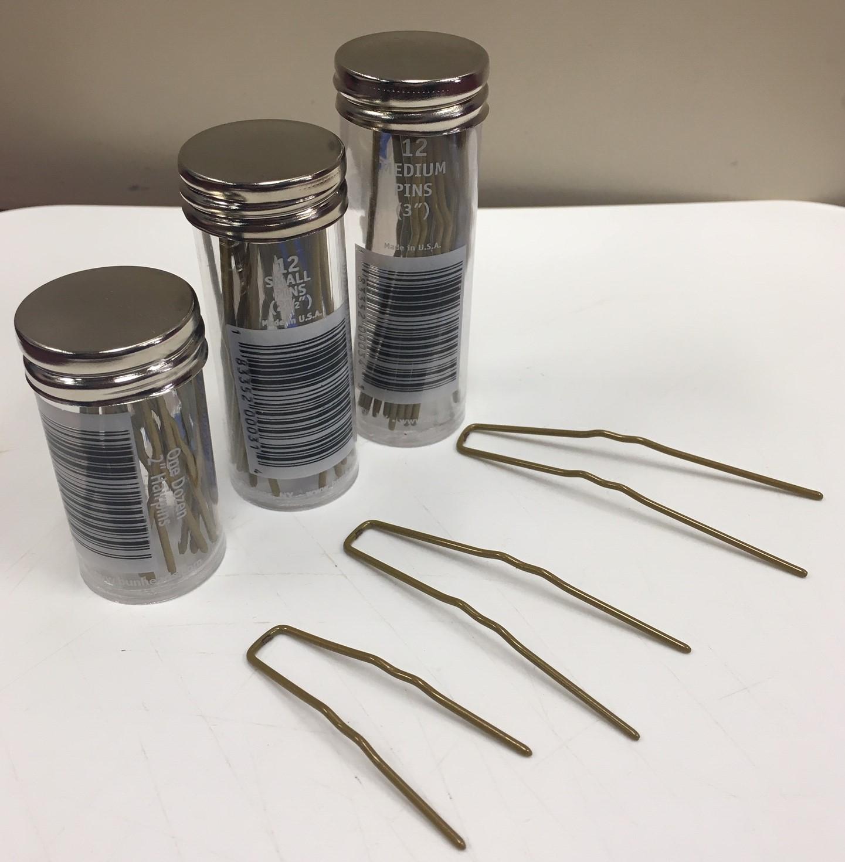 Bunheads 12 Metal Hairpins