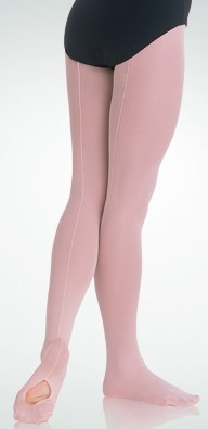 Bodywrappers Children's Mesh Convertible Seamed Tights