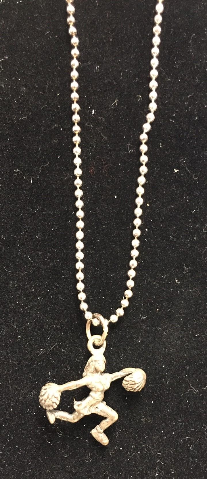 Barry's Cheerleader/Pom Necklace