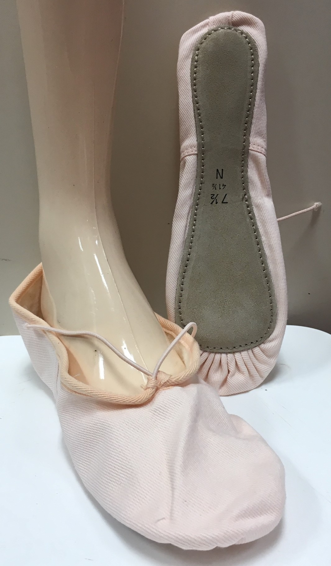 Gamba Full Sole Canvas Ballet Shoes