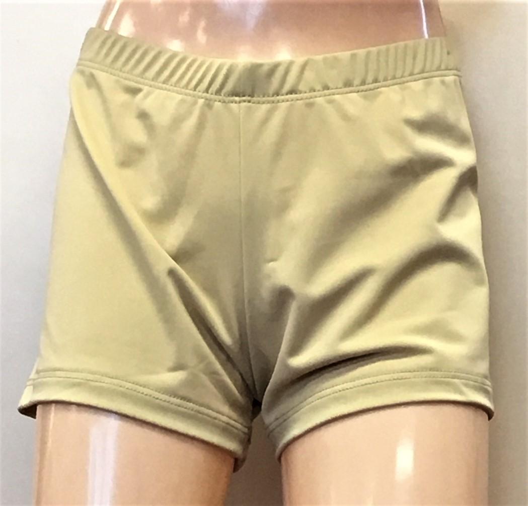 Gia Mia Women's 1 Inch Waist Booty Shorts