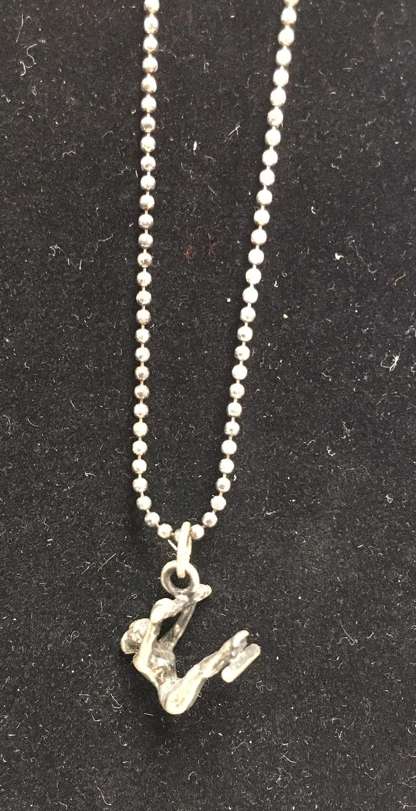 Barry's Gymnast Necklace