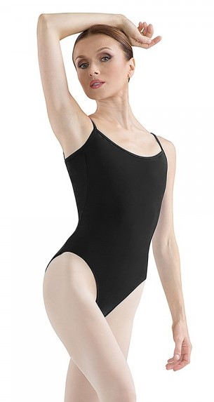 Bloch Women's Tall Lowback Lined Camisole Leotard