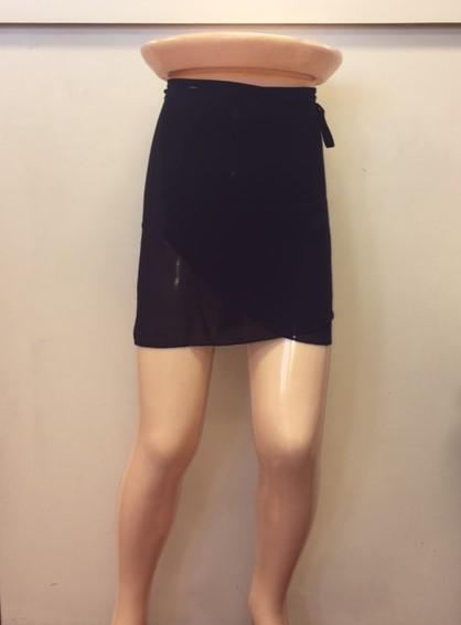 Mirella Adult 12-14 Georgette Wrap Skirt