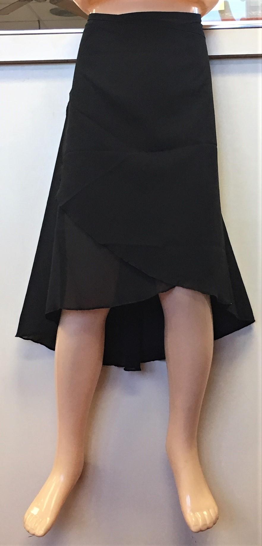 Mirella Adult 16-20 Georgette Wrap Skirt