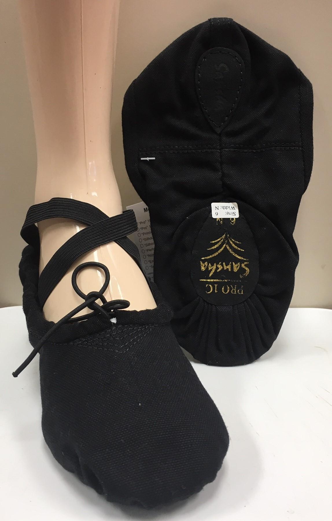 Sansha Pro 1 Canvas Split Sole Ballet Shoes