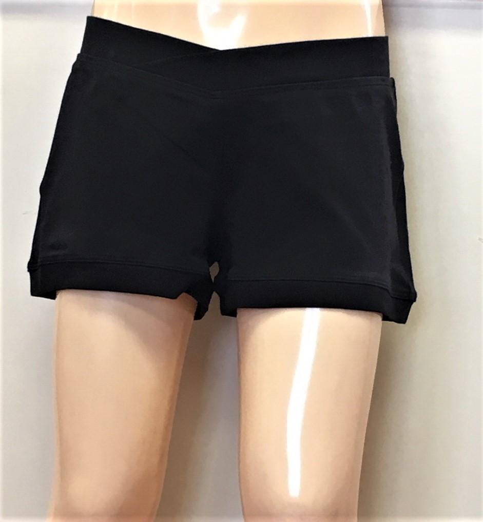 Bloch Women's V Waist Shorts
