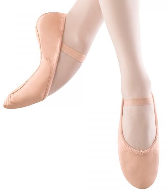 Bloch Children's Leather Full Sole Ballet Shoe