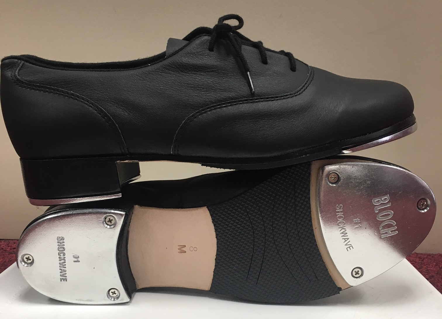"""Bloch """"Respect"""" Oxford Tap Shoes"""