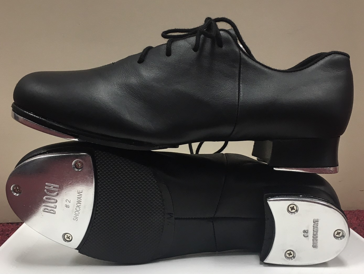 Bloch Lace Up Split Sole Tap Shoes
