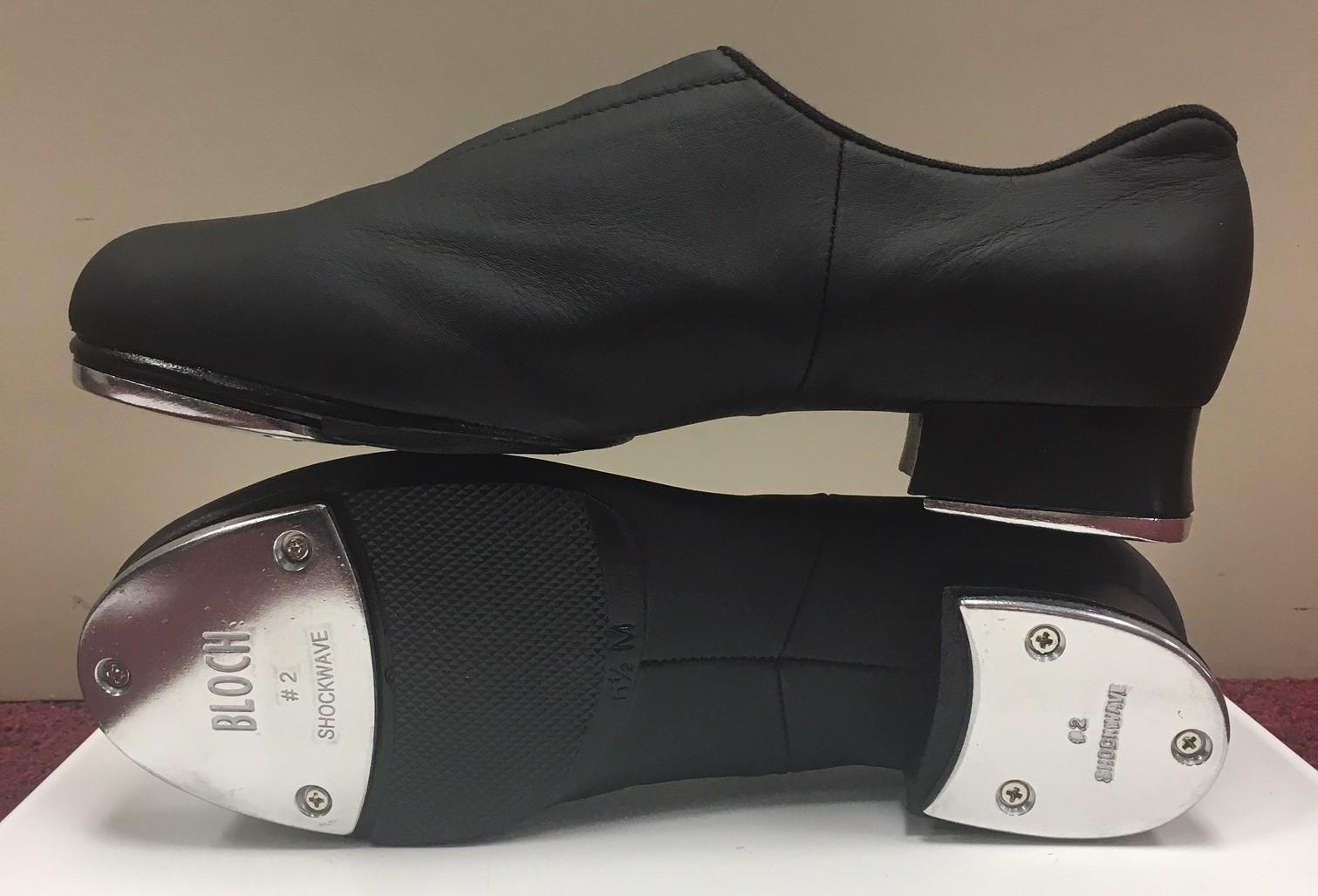 Bloch Adult Slip-On Split Sole Jazz Tap Shoe