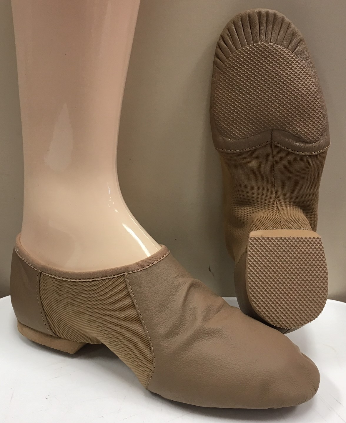 Bloch Bootie Split Rubber Sole