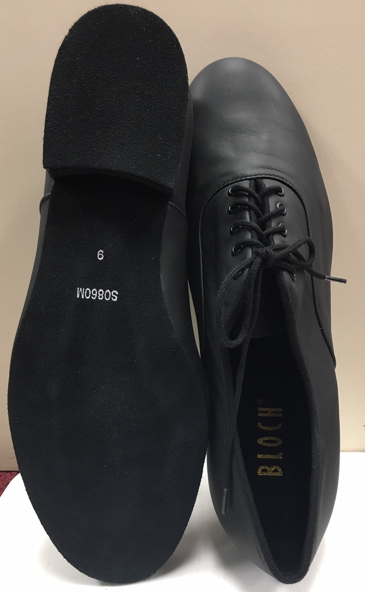 Bloch Men's 1 Inch Heel Suede Sole Leather Upper Xavier Oxford Ballroom Shoes