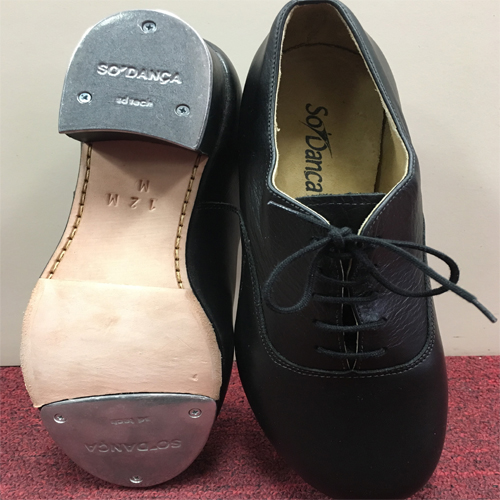 So Danca Double Soled Oxford 1.5 Heel