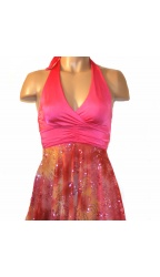 Bodywrappers Women's Halter Dress/Tunic